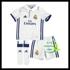 Fotballdrakter FC Real Madrid Barn Hjemmedraktsett 2016-2017