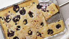 Skip the griddle! This fluffy, sweet oven-baked pancake will save you from flipping cakes for everyone. Instead, mix up the batter and bake off this sheet pan-sized pancake in the oven. While cooks will appreciate the efficiency of this recipe, everyone around the table will appreciate its flavor. The combination of fresh blueberries and lemon zest provides a pleasant, slightly tangy contrast to the sweet blueberry preserves and pancake base. This well-balanced flavor is appealing to…