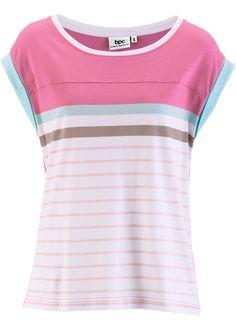 Kurzarm-Shirt, bpc bonprix collection, gestreift