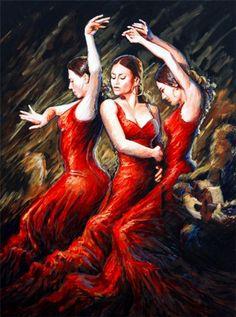 Flamenco unos de los baile mas sensual y apasionado lo amo