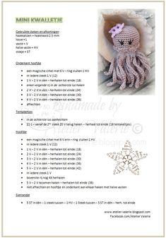 18 Likes, 1 Comments - Умелый Crochet Stars, Cute Crochet, Crochet Baby, Knit Crochet, Crocheted Jellyfish, Crochet Octopus, Crochet Patterns Amigurumi, Crochet Dolls, Knitting Patterns