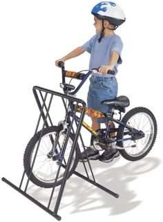 gearup 4 on the Floor Folding Bike Stand, Black -- Find out more about the great product at the image link.