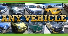 We buy junk cars, trucks, SUVs, vans and more. Sell us your junk vehicles and get cash!  Find Us Here ->