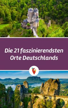 Holidays in Germany: cheap offers & travel tips- Urlaub in Deutschland: günstige Angebote & Reisetipps Here are the 21 TOP natural wonders of Germany. So keep your eyes open and be inspired! Europe Destinations, Holiday Destinations, Cool Places To Visit, Places To Go, Travel Around The World, Around The Worlds, Countries To Visit, Destination Voyage, Backpacking Europe