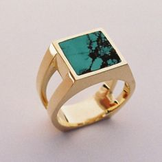 Stylish and Unique Men's Gemstone Rings