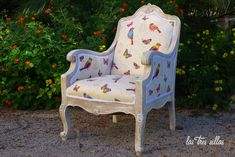 sillon_robin_alquiler_muebes_bodas_las_tres_sillas Wingback Chair, Wedding Planner, Accent Chairs, Valencia, Robin, Crafts, Furniture, Home Decor, Environment