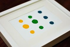 Let's Frame Some Food Coloring | Young House Love