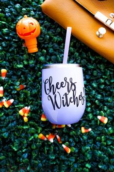 Get your Halloween tumblers ready! These high quality, stainless. Halloween Cups, Fall Halloween, Halloween 2019, Wedding Reception Planning, Bridesmaid Proposal Gifts, Custom Gift Boxes, Fall Drinks, Wedding Gifts, Bridal Shower
