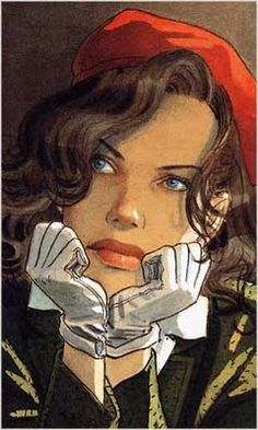 Jean-Pierre Gibrat is a French comic artist and scriptwriter. Born on the of April 1954 in Paris, France. His first complete storie. Alphonse Mucha, Art And Illustration, Ligne Claire, Plastic Art, Arte Disney, Woman Painting, Pablo Picasso, Comic Artist, Erotic Art