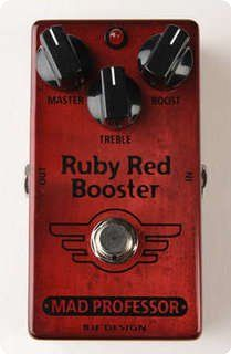 Mad Professor / Ruby Red Booster / 2013 / Effect Pedal
