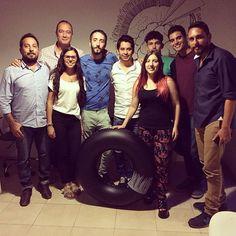 Gaspar, Toni, Emilio, Luchín, Juan & chicos de la escuelita de verano 2