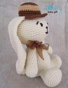 Crochet Pattern Amigurumi Bunny Animal Crochet Pattern