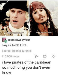Pirates of the Caribbean moves are straight gold Funny Relatable Memes, Funny Posts, Stupid Funny, Hilarious, Jack Sparrow Quotes, Johny Depp, Pirate Life, Disney Memes, Pirates Of The Caribbean
