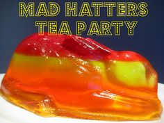 Mad Hatter's Tea Party ideas: lots of fun food
