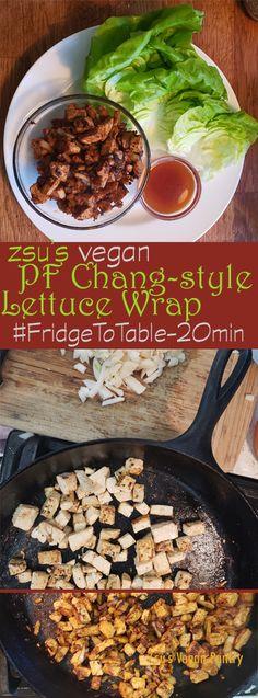 Zsu's Vegan Pantry: pf chang's-style lettuce wrap
