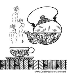 coffee coloring page 34 free sample join fb grown up coloring group - Books To Color