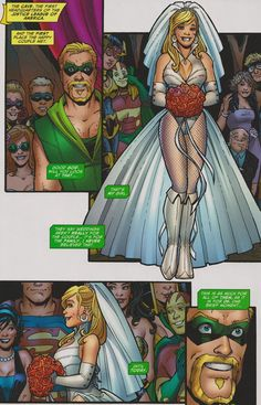 green+arrow+and+black+canary+wedding+special+#1.jpg (973×1515)