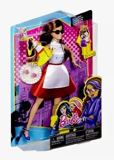 Barbie Spy Squad Teresa Secret Agent Doll Mattel Spin Kick Action New in Box