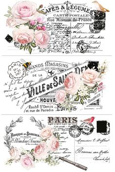 Decoupage Vintage, Decoupage Paper, Vintage Paper, Napkin Decoupage, Rub On Transfers, Decoupage Printables, Star Decorations, Vintage Labels, Coloring Book Pages