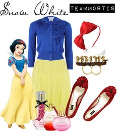 """Snow White"" by teammortis ❤ liked on Polyvore"