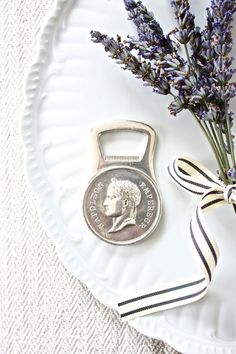 Vintage Silver Christofle Gallia Collection Bottle Opener by Beyond The Brocante on Gourmly