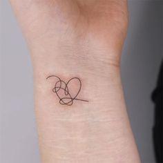 Dainty Tattoos, Wrist Tattoos, Pretty Tattoos, Mini Tattoos, Love Tattoos, Tribal Tattoos, Small Tattoos, Tatoos, Kpop Tattoos