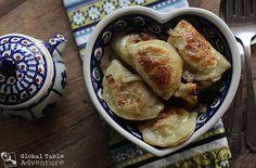 Cheese & Potato Pierogi: www.dishmaps.com ♥