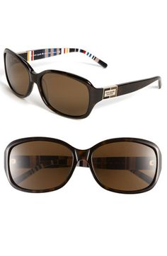 kate spade new york 'annika/p/s' polarized oversized sunglasses available at #Nordstrom