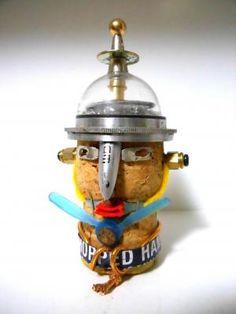 PPED -1 / ハイサイ!! 今回のロボットは久々にじっくり創作するさ~ と思いつつあれこれ手を加えるうちに・・・ 一気に完成(頭部)したのでUPです!!