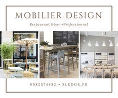 Mobilier design pour restaurant - Sledge