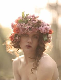 DIY Inspiration: Floral Headpieces | Why Don't You Make Me