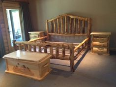 Log Bedroom Sets Prepossessing Grizzly Log Bedroom Sets  Cabin  Bear Room  Pinterest  Log 2018