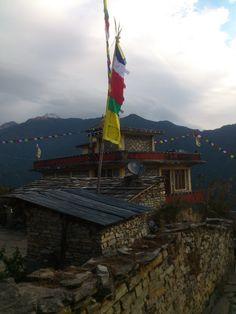 Ghandruk Nyingma Monastery #trekking #Gurung #village #Ghandruk #Ghandrung #hospital #travel #monastery #buddhism