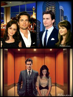 .Matt Bomer and Alexis Bledel for Christian and Anastasia!! ♥