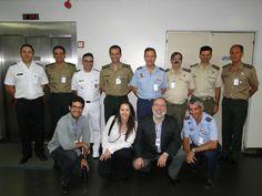 Visitando SERPRO, Brasil, con el Mando Conjunto de Ciberdefensa de España. Empresa pública de servicios IT con un largo recorrido en el ámbito de la seguridad cibernética y referencia para el gobierno brasileño.