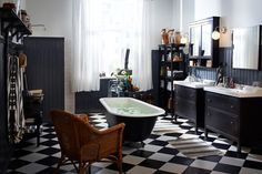 Mix and Match - Bathroom Ideas - Tiles, Furniture & Accessories (houseandgarden.co.uk)