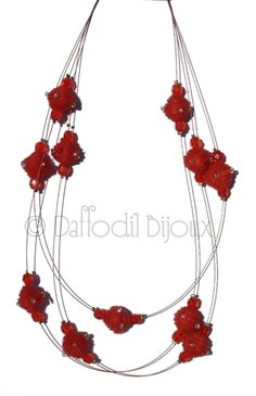 Collana Soft Crystal  Soft Crystal Necklace by Daffodil Bijoux