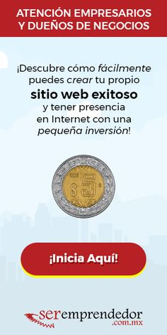 Crea Tu Página Web por solo 5 pesos MXN