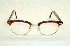 1950s G-Man Eyeglasses X-LARGE Shuron Ronsir Retro Eye Glasses Sunglasses NIB