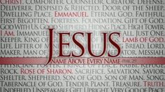 """Philippians 2:9-10 (KJV) ~ """"Wherefore God also hath highly exalted him, and given him a name which is above every name: That at the name of Jesus every knee should bow, of things in heaven, and things in earth, and things under the earth;""""  ~  Amen!"""