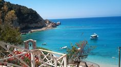 Agios nikitas lefkas Mediterranean Sea, Greek Islands, Crete, Homeland, Places Ive Been, Beautiful Places, Scenery, In This Moment, World