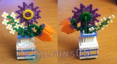 Flower hama beads by Alfons05