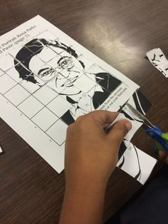 Free Rosa Parks activity for kids.