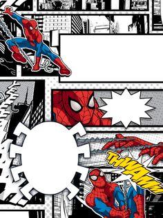 Spiderman Theme Party, Spiderman Birthday Invitations, Avengers Birthday Cakes, Superhero Birthday Party, Prince Party, Birthday Design, Birthday Ideas, Happy Birthday, Great Gifts For Dad