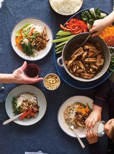 This Thai-inspired pork recipe, that's been gently braising in the slow cooker for hours, will leave the house smelling sumptuous. Crockpot Recipes, Cooking Recipes, Yummy Recipes, Braised Pork, World Recipes, Winter Food, Meal Prep, Slow Cooker, Favorite Recipes