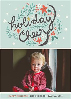 Holiday Clippings Card | Design by @ceneri | #holiday #cards