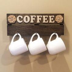 Mug Rack / Mug Hanger / Coffee Cup Hanger / Mug display / Coffee / Coffee Cup Display