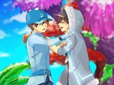 Image may contain: one or more people Anime Galaxy, Boboiboy Galaxy, Boboiboy Anime, My Childhood Friend, My Idol, Geek Stuff, Animation, Fan Art, Cartoon