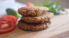 Foto: Birgitte Magnussen American Pancakes, Portable Snacks, Easy Vegetarian Dinner, Cold Lunches, Quinoa, Dinner Recipes, Dinner Ideas, Healthy Snacks, Clean Eating