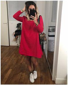 """5,784 Me gusta, 73 comentarios - Audrey Lombard (@audreylombard) en Instagram: """"Touche de Rouge ♥️ Robe @modetrotter #modetrotter ♥️ ... Ps : tous les tags sont sur la photo et…"""""""